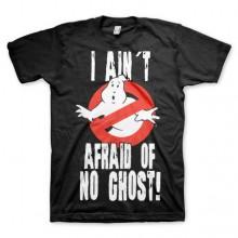 Ghostbusters I Ain´t Afraid T-skjorte Svart