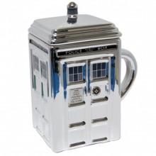 Doctor Who Tardis Sølv Kopp Med Lokk