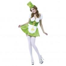 St. Patrick Karnevalsdrakt Dame