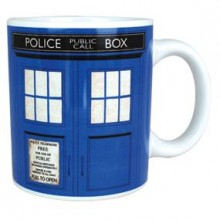 Doctor Who Tardis Kaffe Kopp