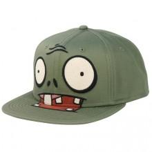 Plants vs Zombies Grønn Zombie Snap Back Caps