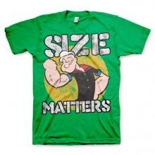 Popeye Size Matters T-Skjorte Grønn