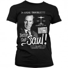 Breaking Bad Better Call Saul T-Skjorte Dame Sort