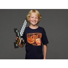 Minecraft Nether Postcard Barn T-shirt
