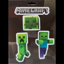 Minecraft Mobs Caves Klistermerker pakke