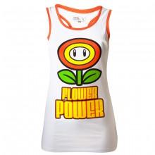 Nintendo Flower Power Topp Jente