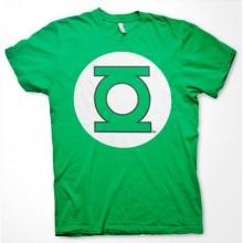 T-Skjorte Green Lantern Logo Grønn