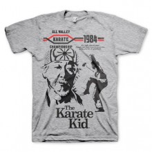 The Karate Kid T-Skjorte Grå
