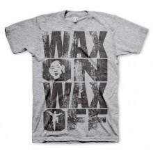 Wax On Wax Off T-skjorte Grå