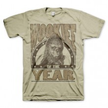 T-Skjorte Star Wars Wookiee Of The Year