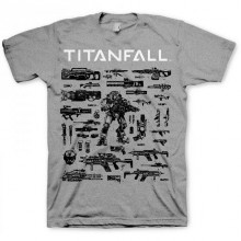 T-Skjorte Titanfall Choose Your Weapon