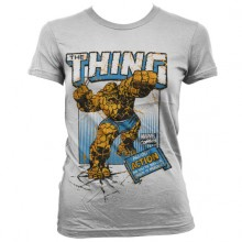T-Skjorte The Thing Action Dame Hvit