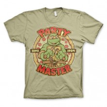 T-skjorte TMNT - Party Master Since 1984 Kaki