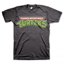 T-Skjorte TMNT - Classic Logo Mørkegrå