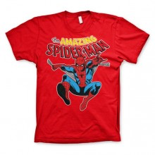The Amazing Spiderman T-Shirt Rød