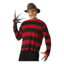 Freddy Krueger Karnevalskostyme