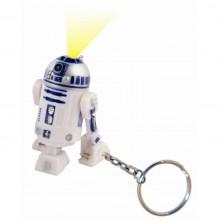 Star Wars R2-D2 Nøkkelring med Lommelykt