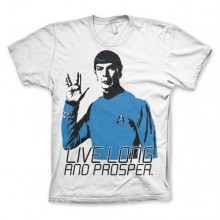 Star Trek - Live Long And Prosper T-skjorte