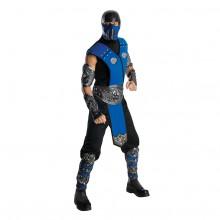 Mortal Kombat Sub-Zero Karnevaldrakt