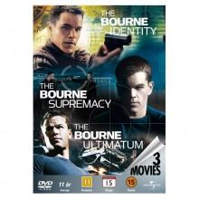 Bourne Identity Samleboks DVD (3 filmer)