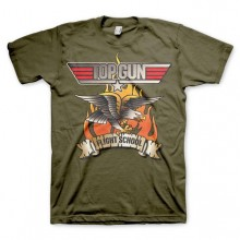 Top Gun Flying Eagle T-skjorte