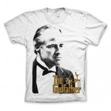 The GodFather, Don With Gold Logo T-Shirt