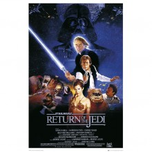 Star Wars Episode VI Plakat