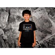 Minecraft Periodic Table Barn T-skjorte