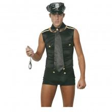 Sexy Politi Karnevalskostyme (Mann)