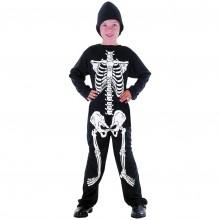 Skelett Budsjett Karnevalsdrakt Barn