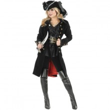 Piratkappe Dame