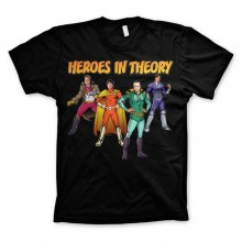 The Big Bang Theory - Heroes In Theory T-skjorte