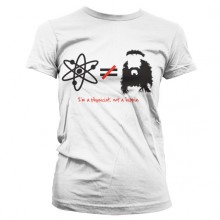 The Big Bang Theory - I'm A Physicist, Not A Hippie Dame T-skjorte