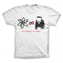 The Big Bang Theory - I`m A Physicist, Not A Hippie T-Shirt