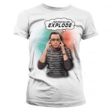 Sheldon - Your Head Will Now Explode Dame T-skjorte