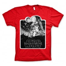 Star Wars Deathstar Poster T-Shirt