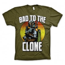 Star Wars Bad To The Clone T-skjorte