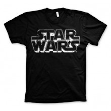 Star Wars Distressed Logo T-skjorte