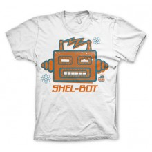 The Big Bang Shel-Bot T-skjorte