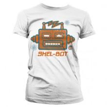 The Big Bang Shel-Bot Dame T-skjorte