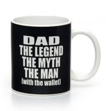 Dad The Legend - Kopp med nøkkelring