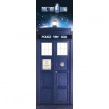 Doctor Who Tardis Plakat
