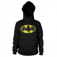 Batman Distressed Logo Hettegenser