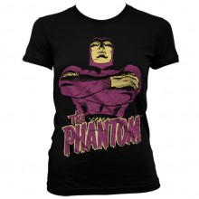 Fantomet Dame Svart T-skjorte