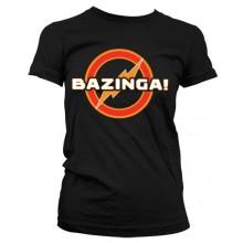 Big Bang Bazinga Underground Logo Girly T-skjorte
