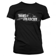 Sons Of Anarchy SOA Flag Logo Girly T-skjorte
