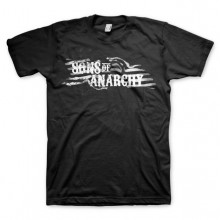 Sons Of Anarchy SOA Flag Logo T-skjorte