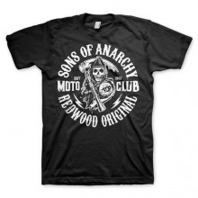 Sons Of Anarchy SOA Moto Club T-Shirt