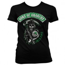 Sons Of Anarchy Ireland Girly T-skjorte