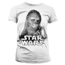 Star Wars Chewbacca Girly T-skjorte